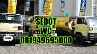 Sedot WC Darmo Wonokromo Surabaya Selatan