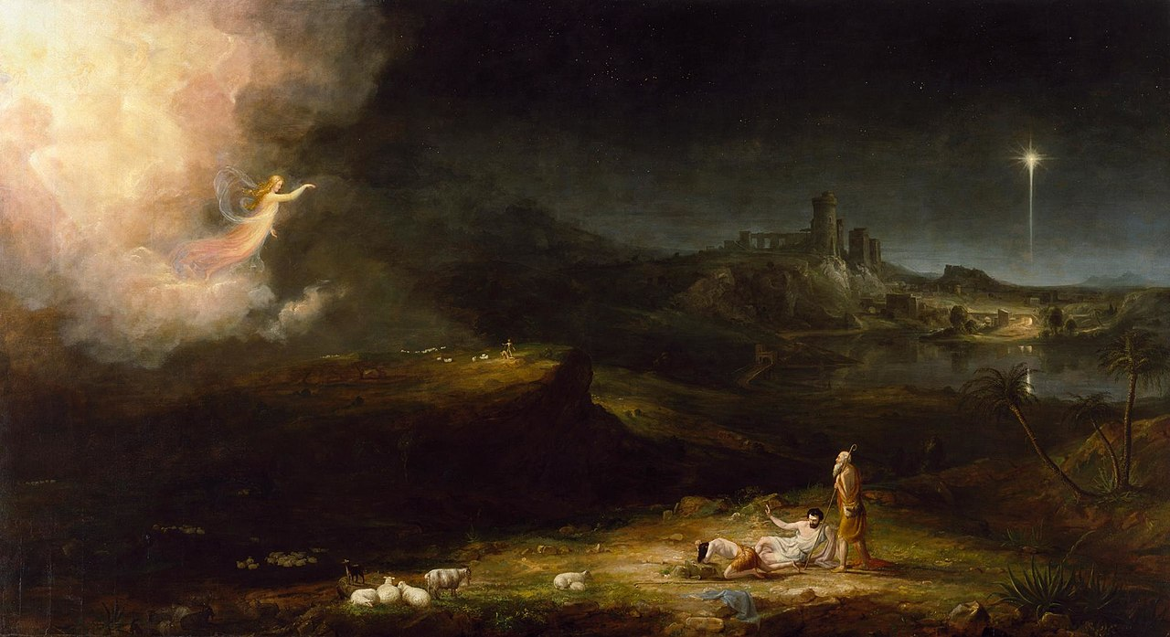 Thomas Cole The Angel Appearing to the Shepherds