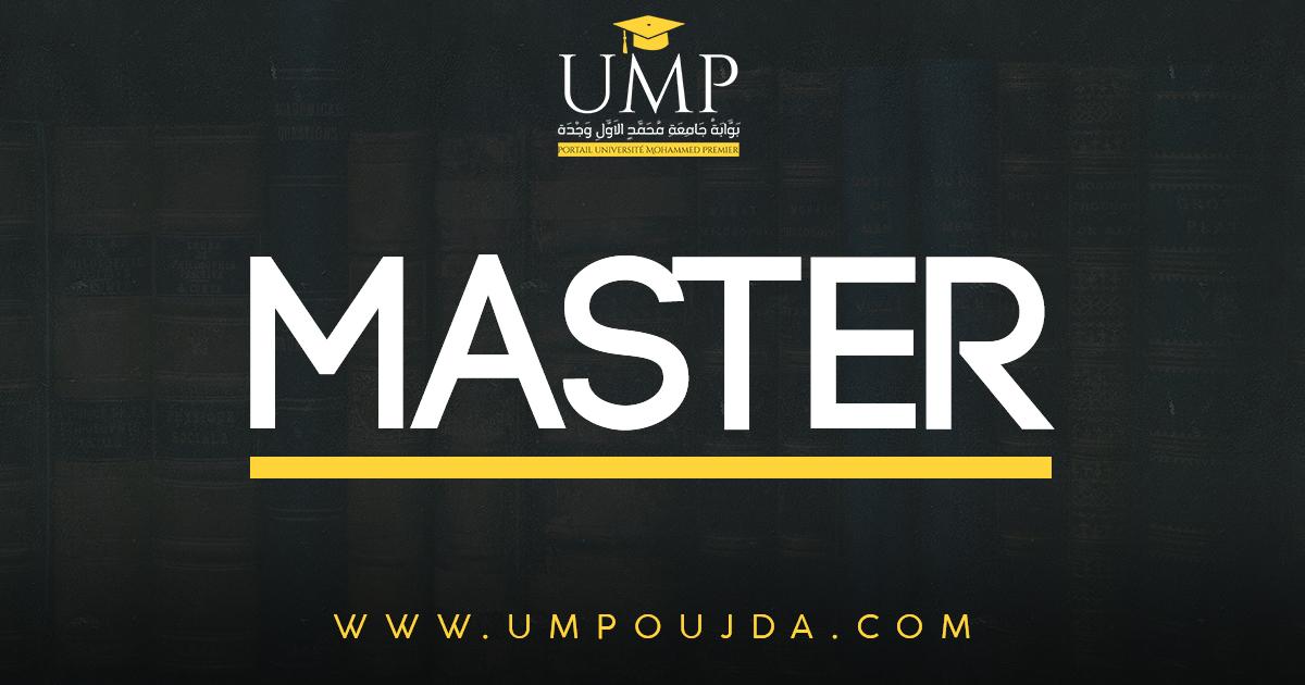 FPN : Master Chimie Des Matériaux 2018/2019