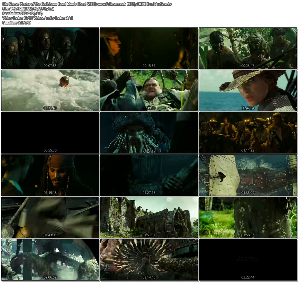 pirates of the caribbean dead mans chest download in hindi