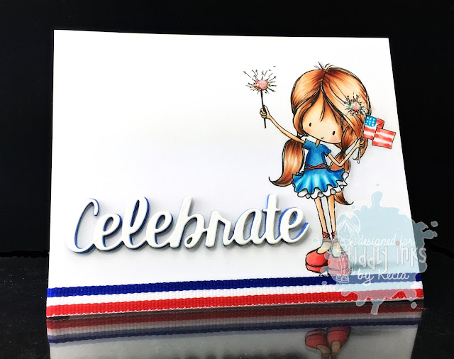 Tiddly Inks, Kecia Waters, Copic markers, patriotic