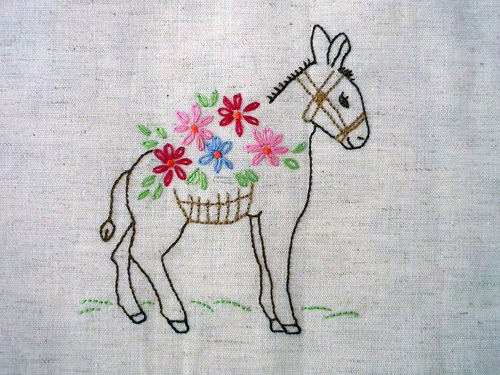 Darling Donkeys and Happy Hexagons