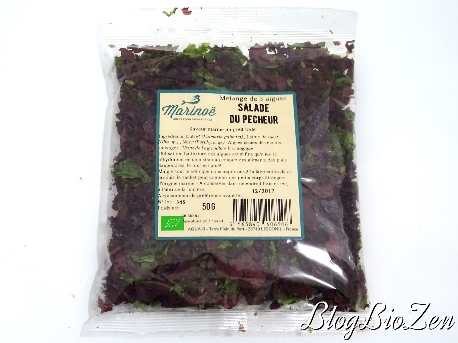 salade du pecheur algues