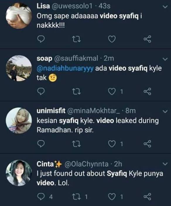 Video Penuh Syafiq Kyle Bogel Melancap Tersebar Dan Viral