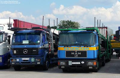Mercedes-Benz i MAN z Kazachstanu