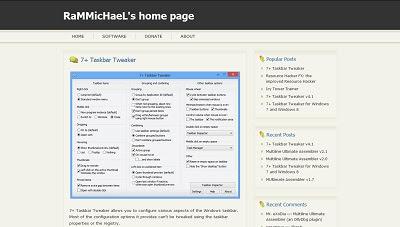 7+ Taskbar Tweaker 4 1 6 - Tips, Trik Komputer, Dan