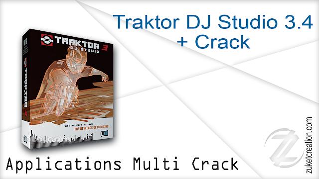 Traktor DJ Studio 3.4 + Crack