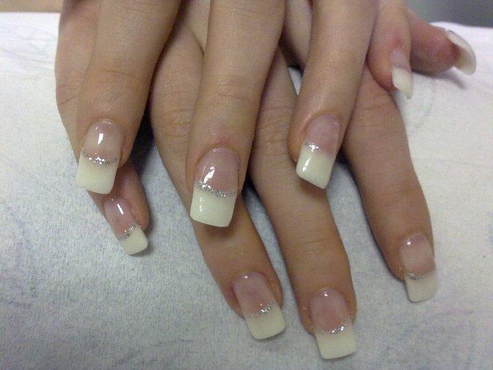 Beautiful White Wedding Nails Designs Ideas