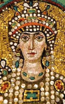 Basílica de San Vitale, emperatriz Teodora