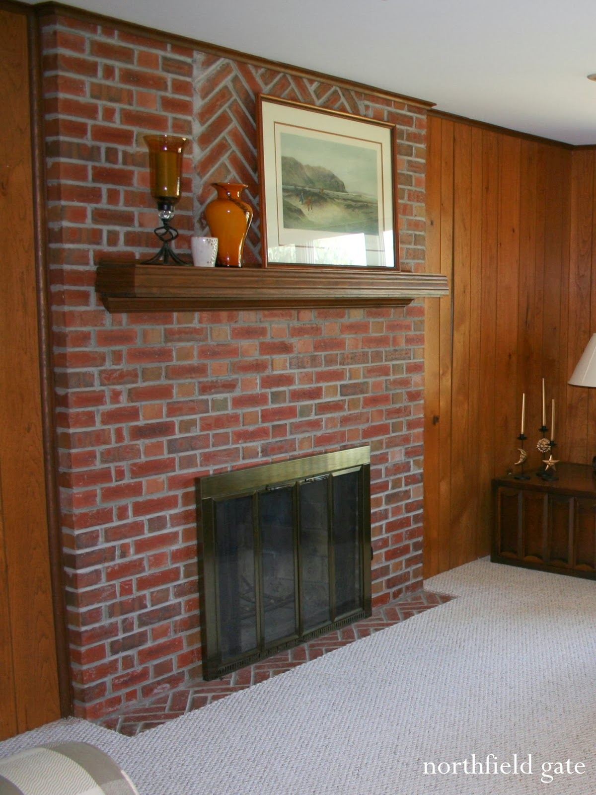 Update Old Brick Fireplace Studio Yuko Jones Brick Fireplace Makeover