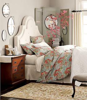 My Sweet June Pink Amp Grey Guest Room