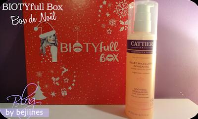 BIOTYfull Box de Noël Cattier Bio