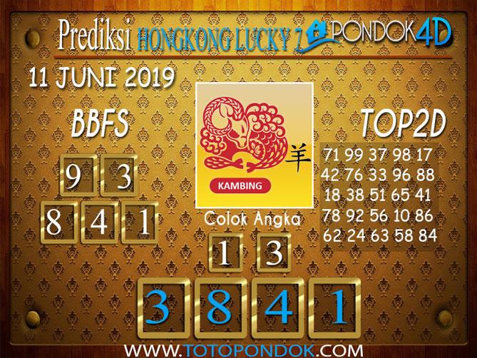 Prediksi Togel HONGKONG LUCKY 7 PONDOK4D 11 JUNI 2019