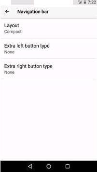 Android O feature to add an extra button on Navigation key