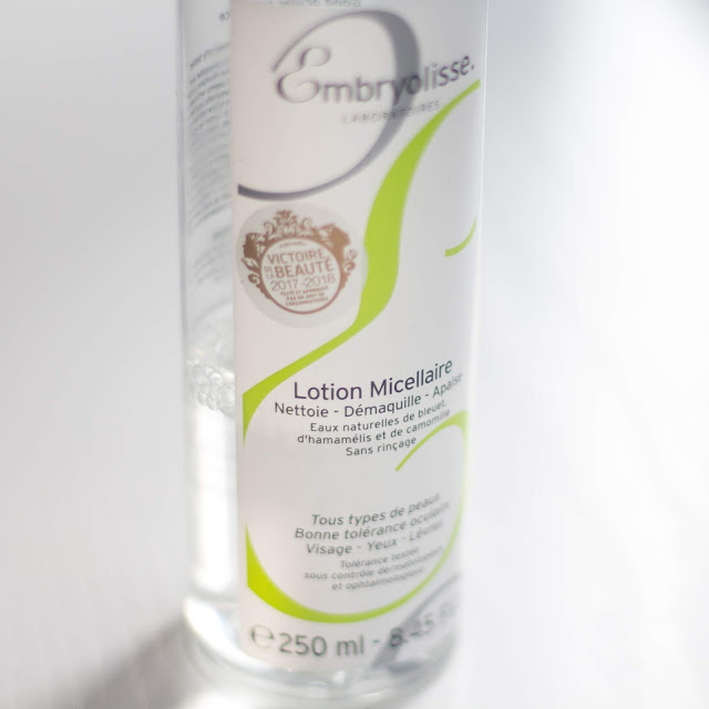Opinión Lotion Micellaire Embryolisse