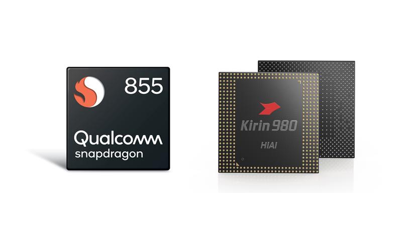 Snapdragon 855 vs Kirin 980