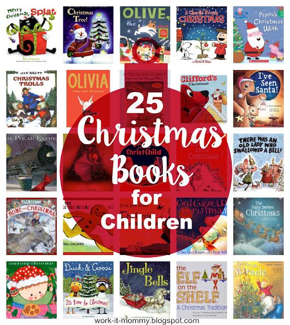 25 Christmas books for Children