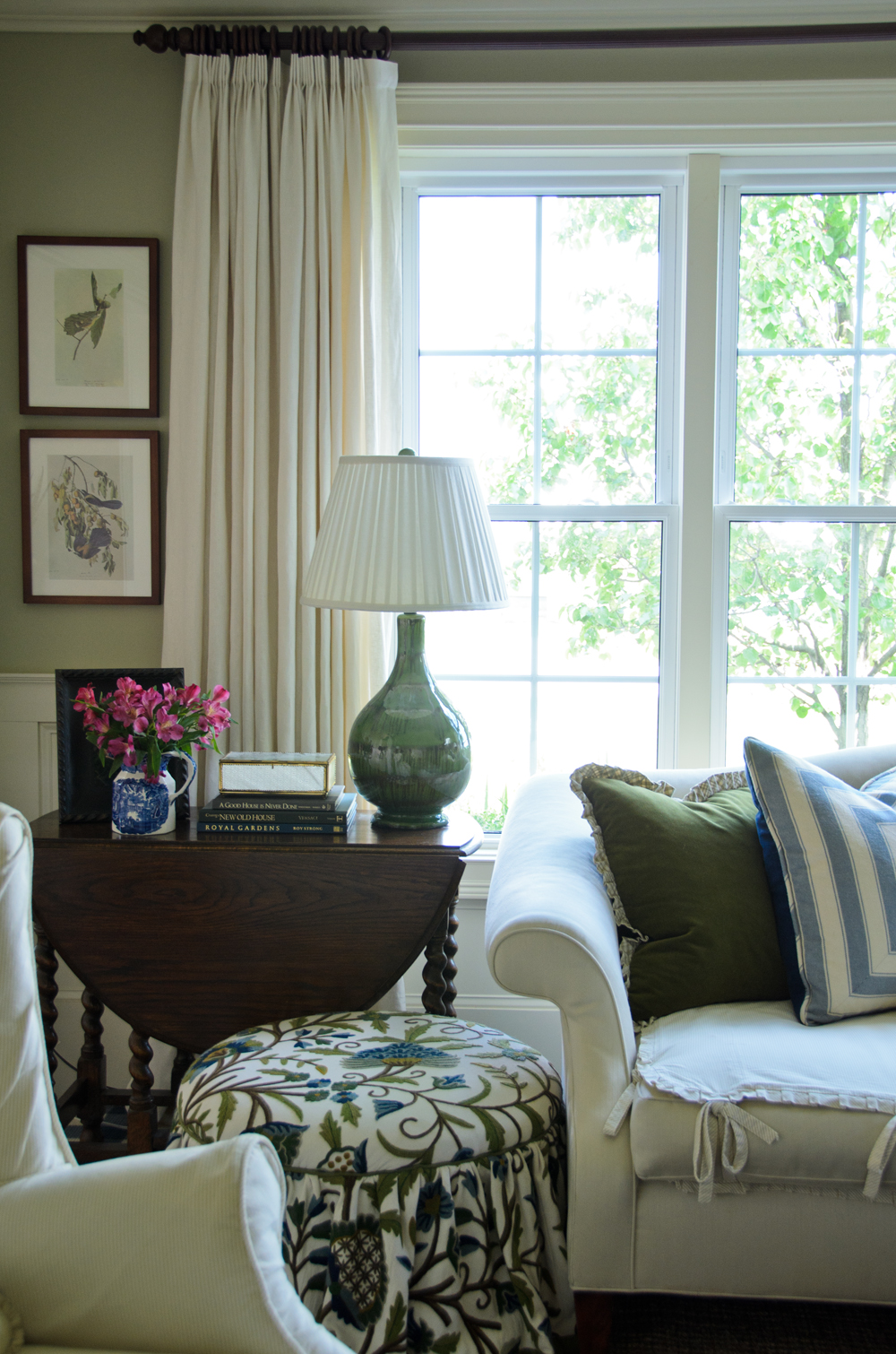 Gracious Farmhouse: Living Room: Time-Out Chairs on Curtains For Farmhouse Living Room  id=63283