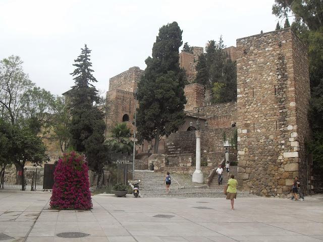 Muralla de la Alcazaba de Málaga