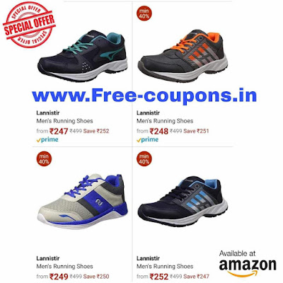 Men's Sports, Outdoor And Running Shoes