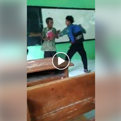 Sudah Terlanjur Viral Guru di Bully dan Ditendang Murid Ternyata Hanya Guyonan, Lihat Fakta dan Videonya