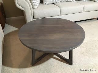 """NEWPORT"" Modern Coffee Table"