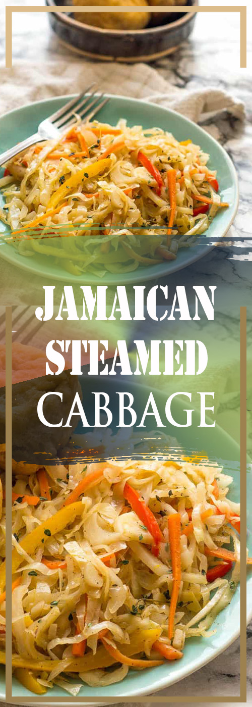JAMAICAN STEAMED CABBAGE RECIPE