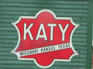 katy railroad sign