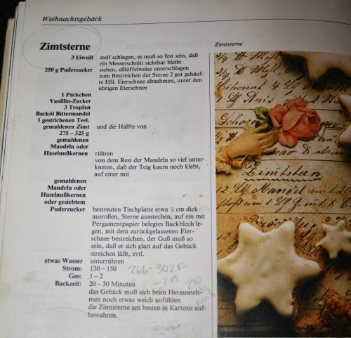 Weihnachtsgebäck Zimtsterne.In Search Of Space And Time Taste Of Home Zimtsterne Cinnamon Stars
