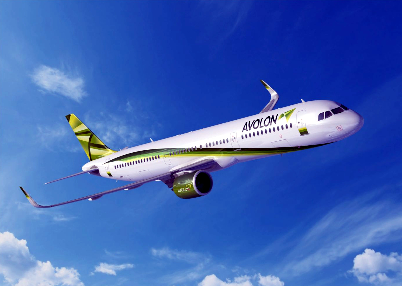 Avolon Airlines Airbus A320-200 Inflight