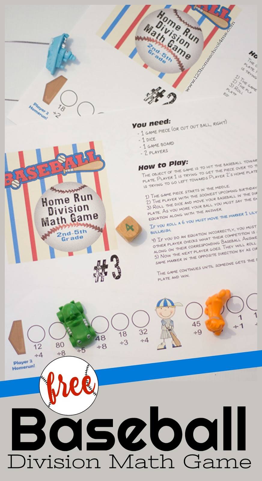 Nerdy image for printable math games for 3rd graders