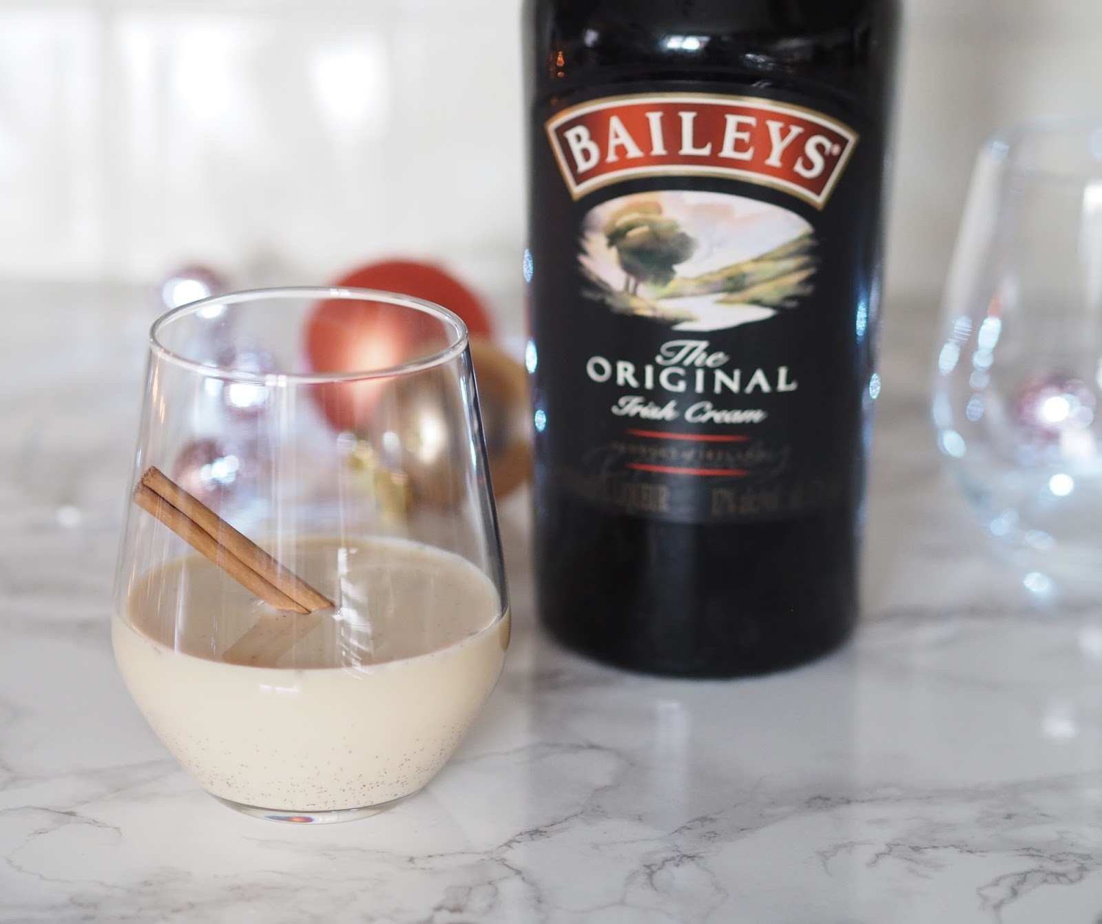 Baileys eggnog Christmas Priceless Life of Mine Over 40 lifestyle blog