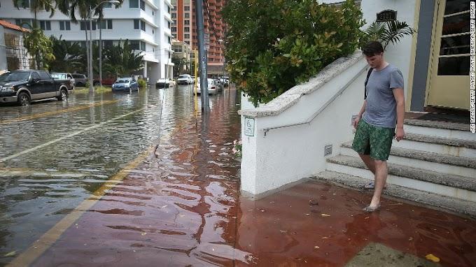 Lagos floods: Heavy rain, storms cause chaos