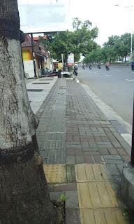 trotoar di Kota Semarang