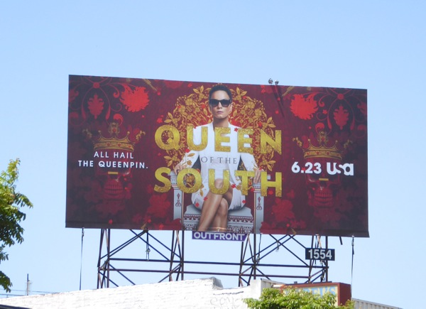 Alice Braga Queen of the South billboard