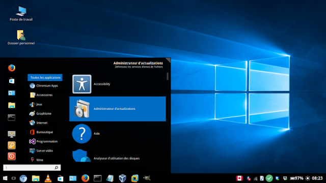 Tema do Windows 10 lançado para os principais ambientes de desktop!