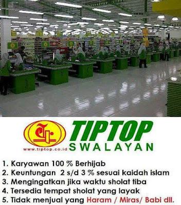 Kisah Sukses Swalayan Islami TIP TOP