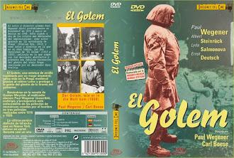 Carátula dvd: El Golem (1920)