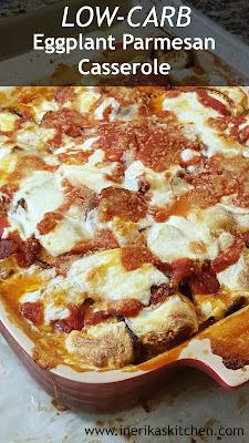 Make this low-carb eggplant parmesan casserole when you're craving pizza