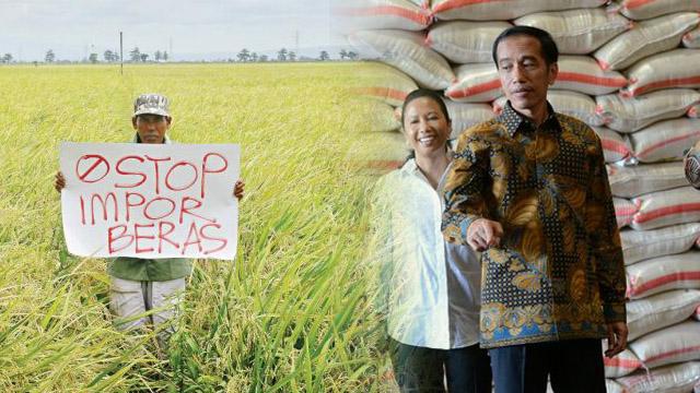 Janji Tinggallah Janji, Jokowi Disebut Khianati Petani