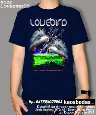 Kaos Lovebird 86
