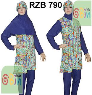 baju renang muslim syari RZB 790