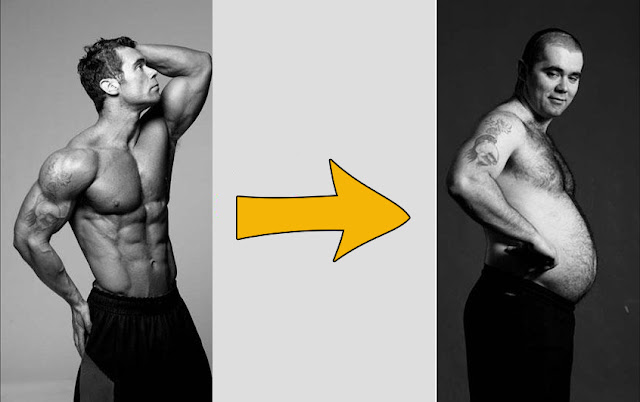تحول العضلات إلى دهون