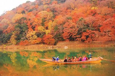 Menyusuri Kota Kyoto Melalui Air