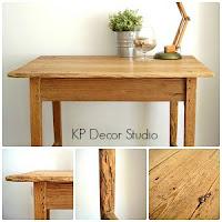 Mesitas de madera vintage. mesas estilo rústico antiguas restauradas. mesas tocineras online. muebles valencia.