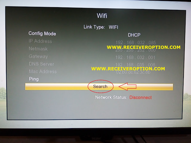 HOW TO CONNECT WIFI IN TIGER O5 HD RECEIVER