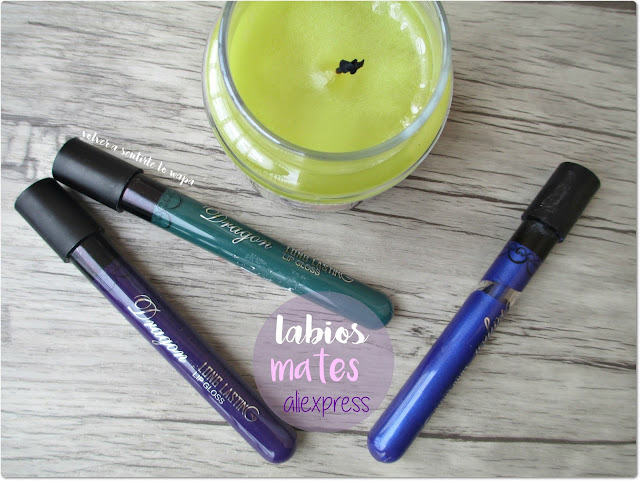 #BlueLips Labiales Mate de Aliexpress