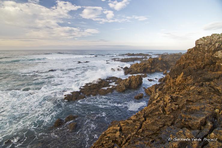 Ruta Playa del Bocal línea de costa - Cantabria