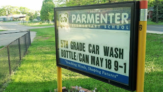 car wash, bottle/can drive