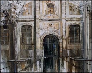 Oli sobre tela d'Aida Mauri / Oil on canvas by Aida Mauri, Mollet del Vallés